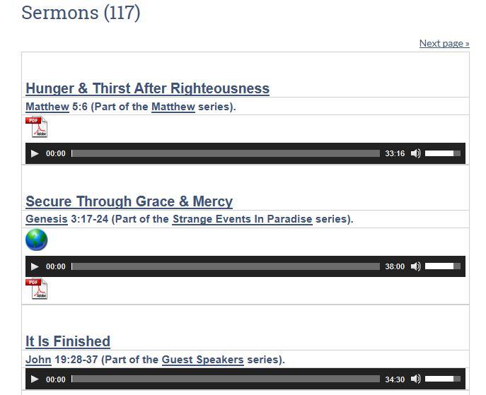 Sermon List 2